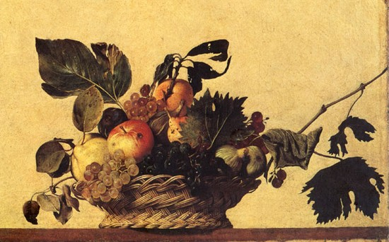 Caravaggio: Canestro di frutta