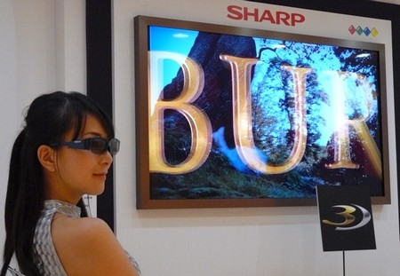 Sharp 3D TV Source: internet