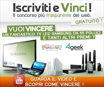Concorso a premi Iscriviti&amp;Vinci