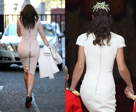 La sfida dei due fondoschiena: Carol Vorderman VS Pippa Middelton