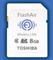 SDHC wireless memory card  Toshiba FlashAir