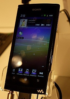 Sony Walkman con Android